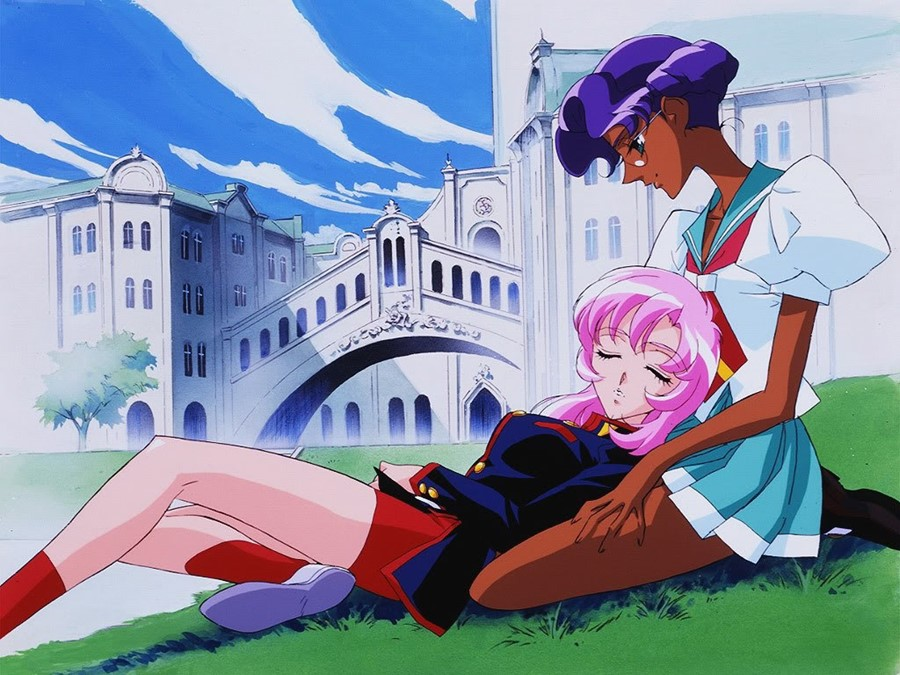 Revolutionary Girl Utena Mid Scene
