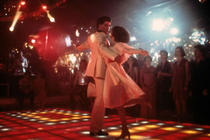 Saturday Night Fever Movie Scene