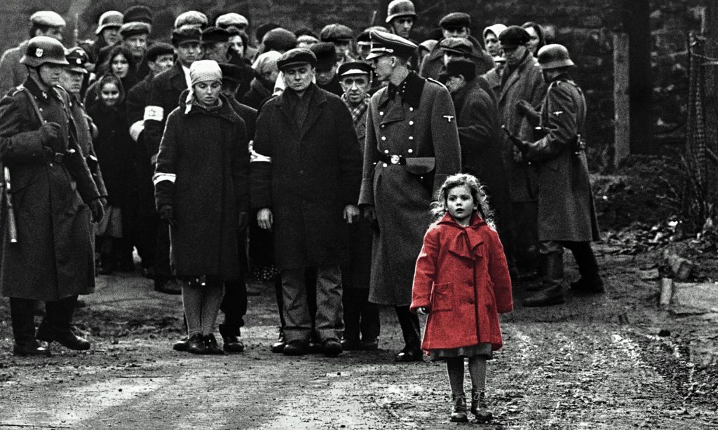 Schindler's List Movie Scene