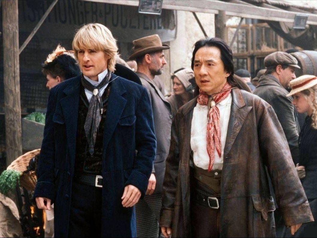 Shanghai Knights 2003 Movie Scene