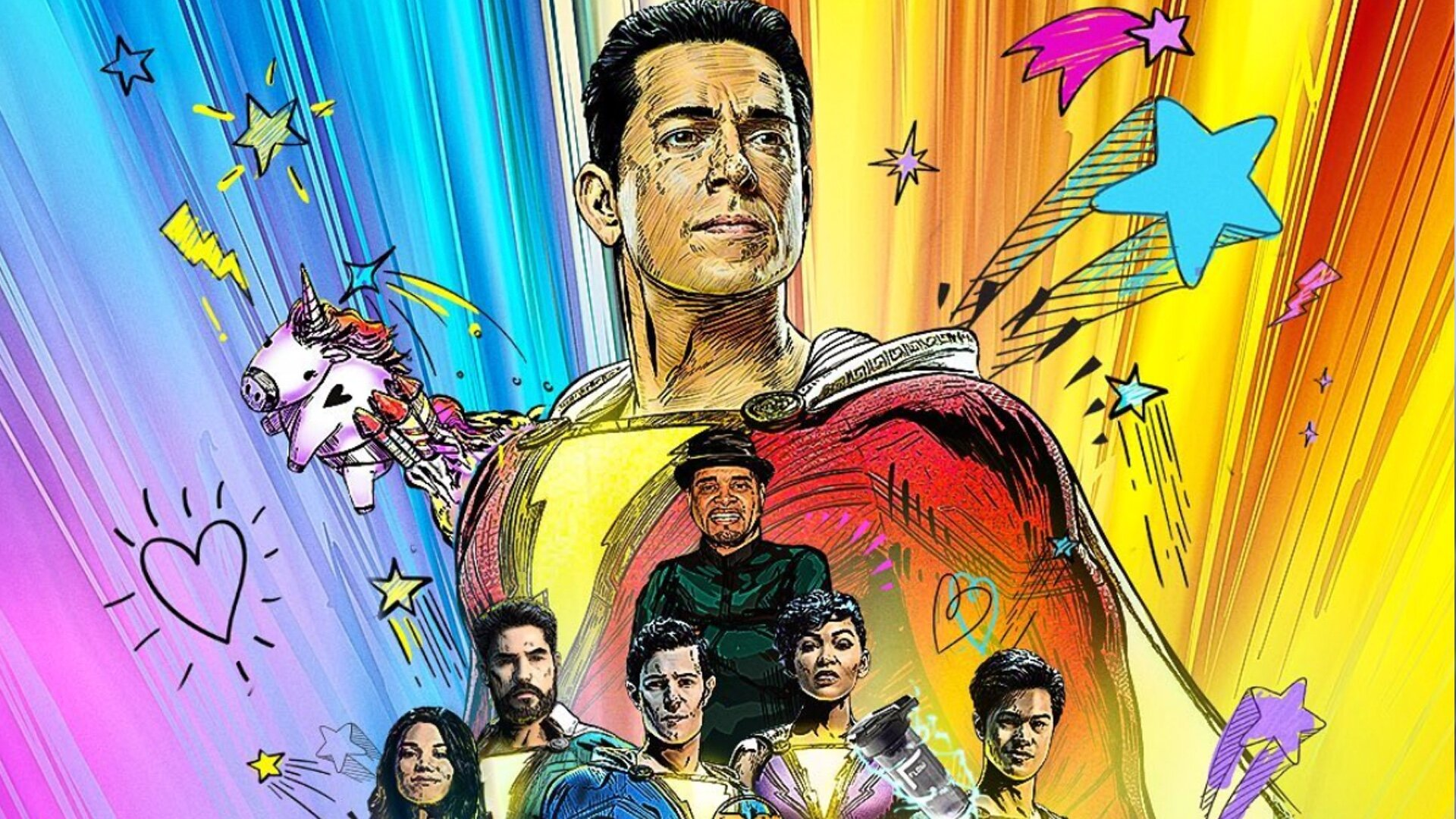 Shazam! Fury of The Gods Poster