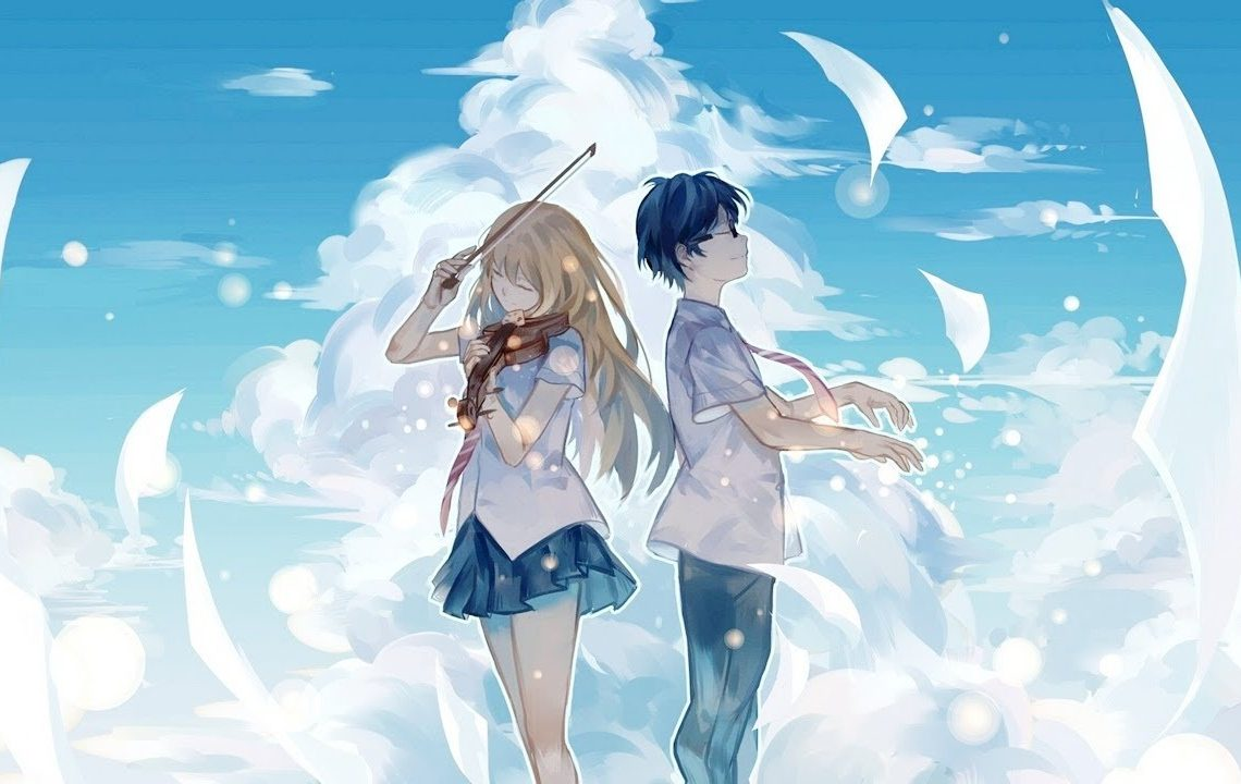 Shigatsu wa Kimi no Uso Poster