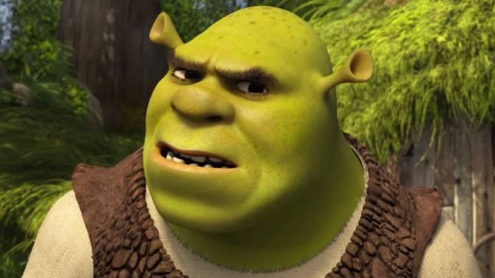 Shrek Movie Scene