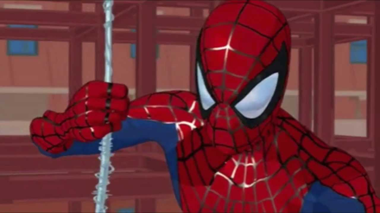 Spider-Man: The New Animated Series (2003) Cartoon Scene