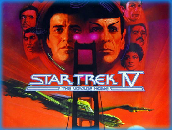 Star Trek: The Voyage Home (1986) Poster