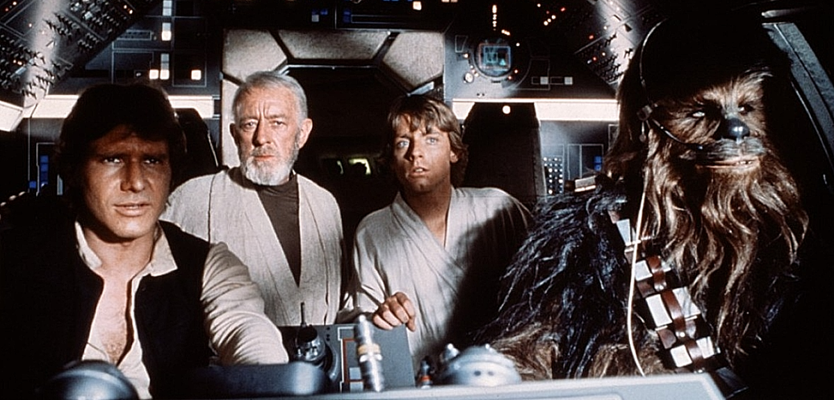 Star Wars Episode 4-A New Hope Movie Scene