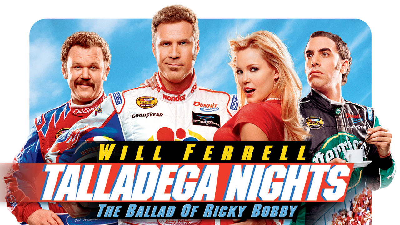 Talladega Nights The Ballad of Ricky Bobby and Stranger than Fiction (2006)