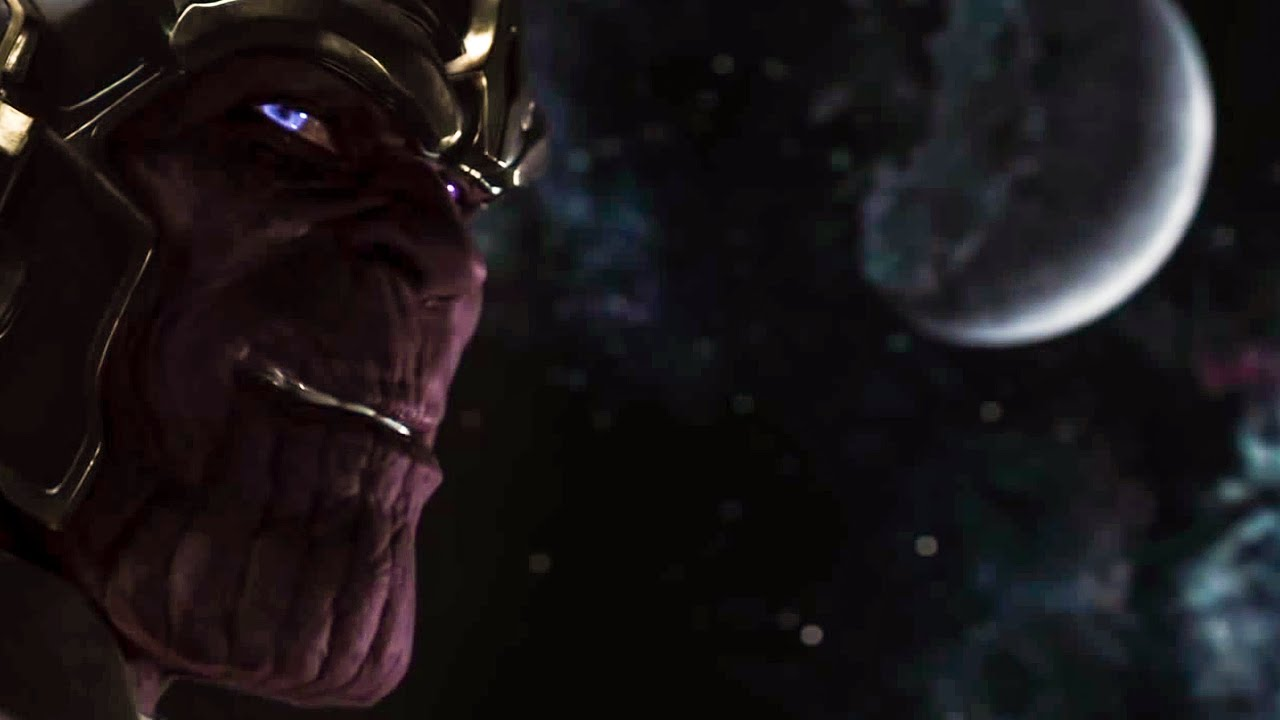 Thanos in the Avengers