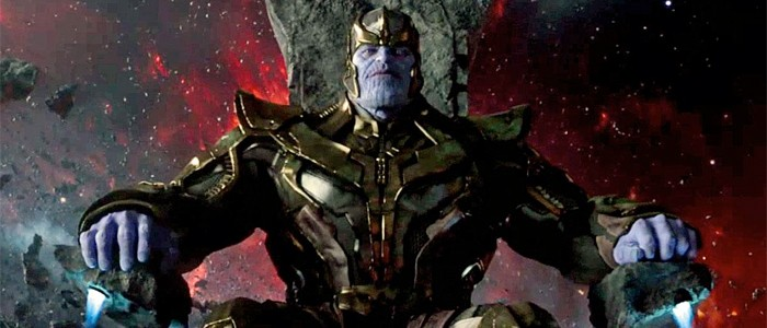 Thanos in the Guardian of the Galaxy