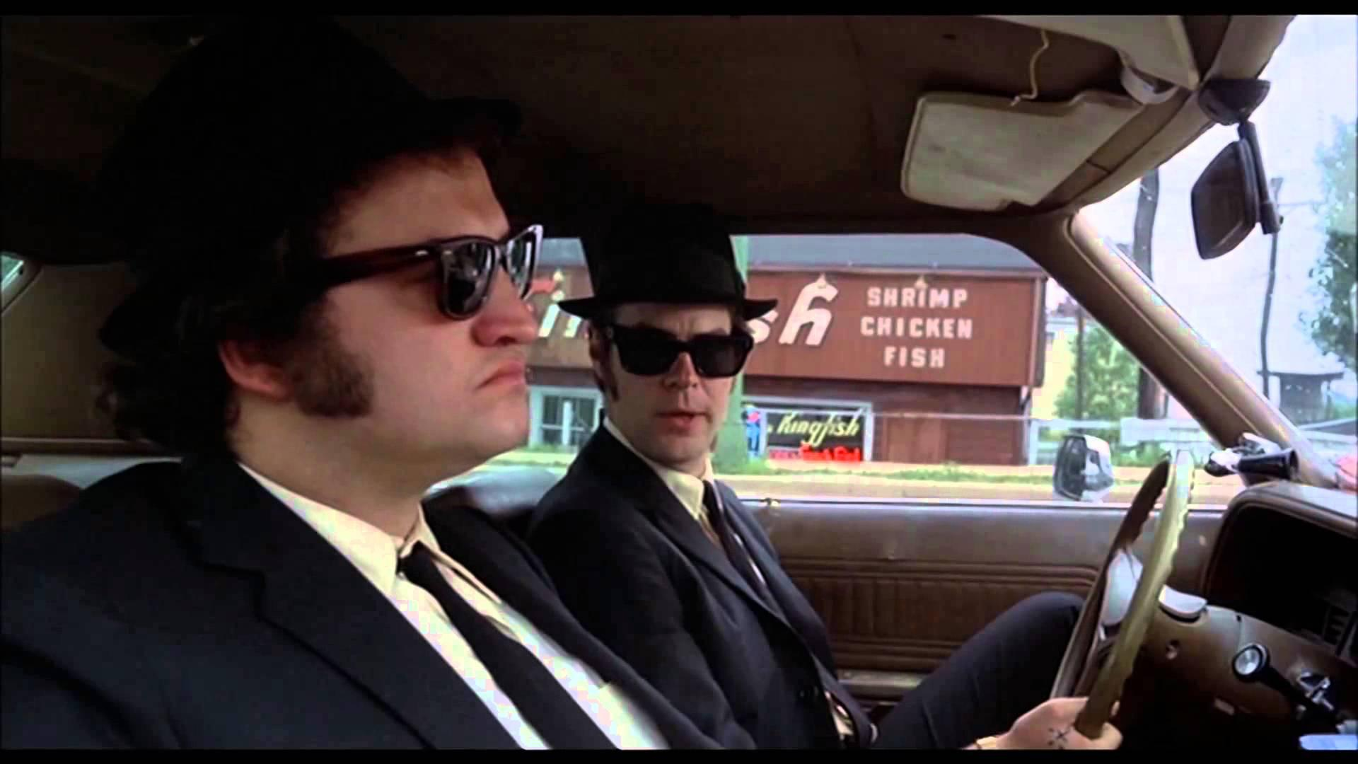 The Blues Brothers Movie Scene