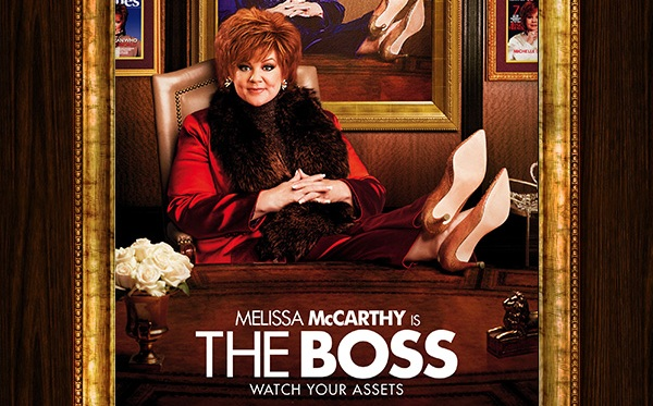 The Boss (2016) Poster