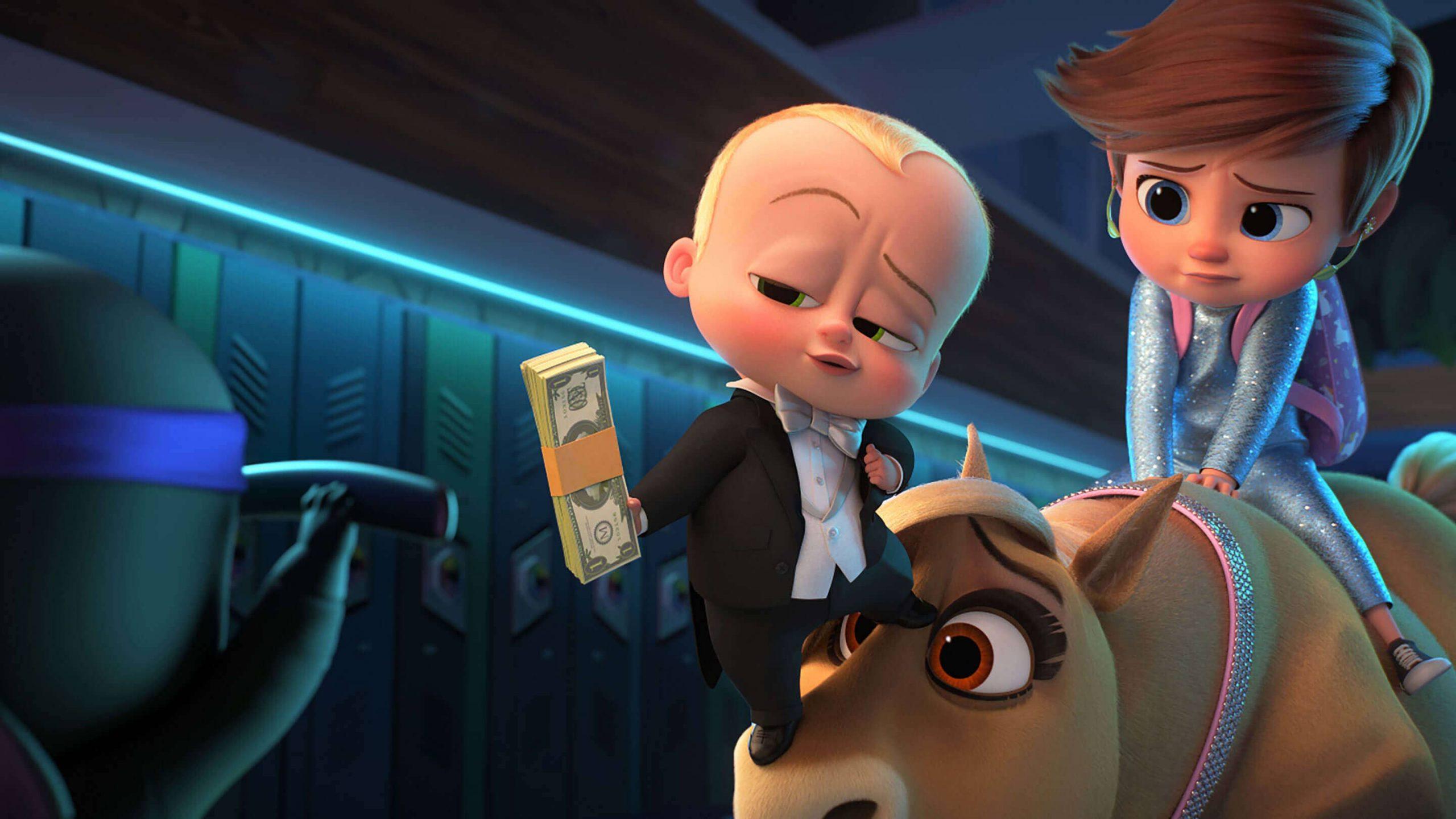 The Boss Baby Movie Scene