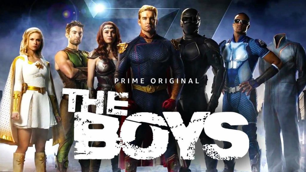 The Boys Shows The Darker Side Of Superheroes Poster