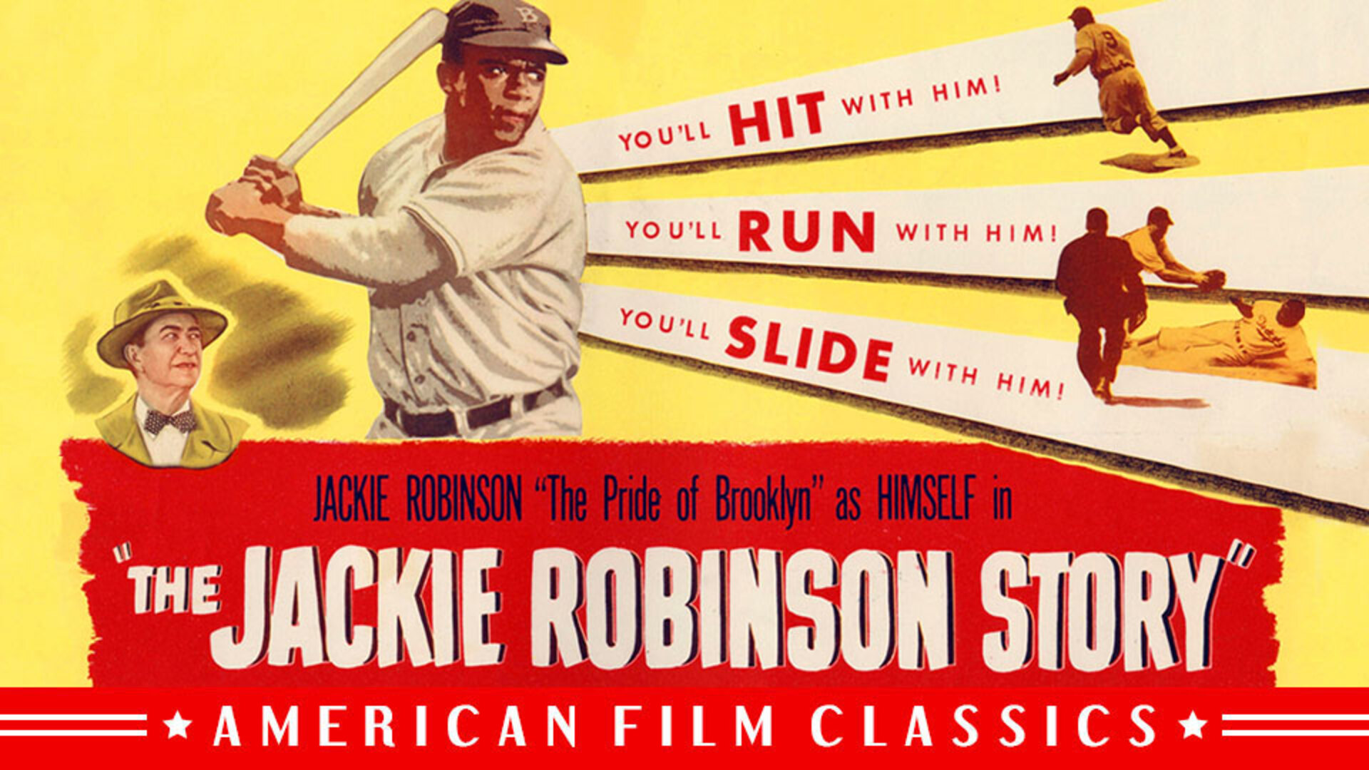 The Jackie Robinson Story (1950) Poster