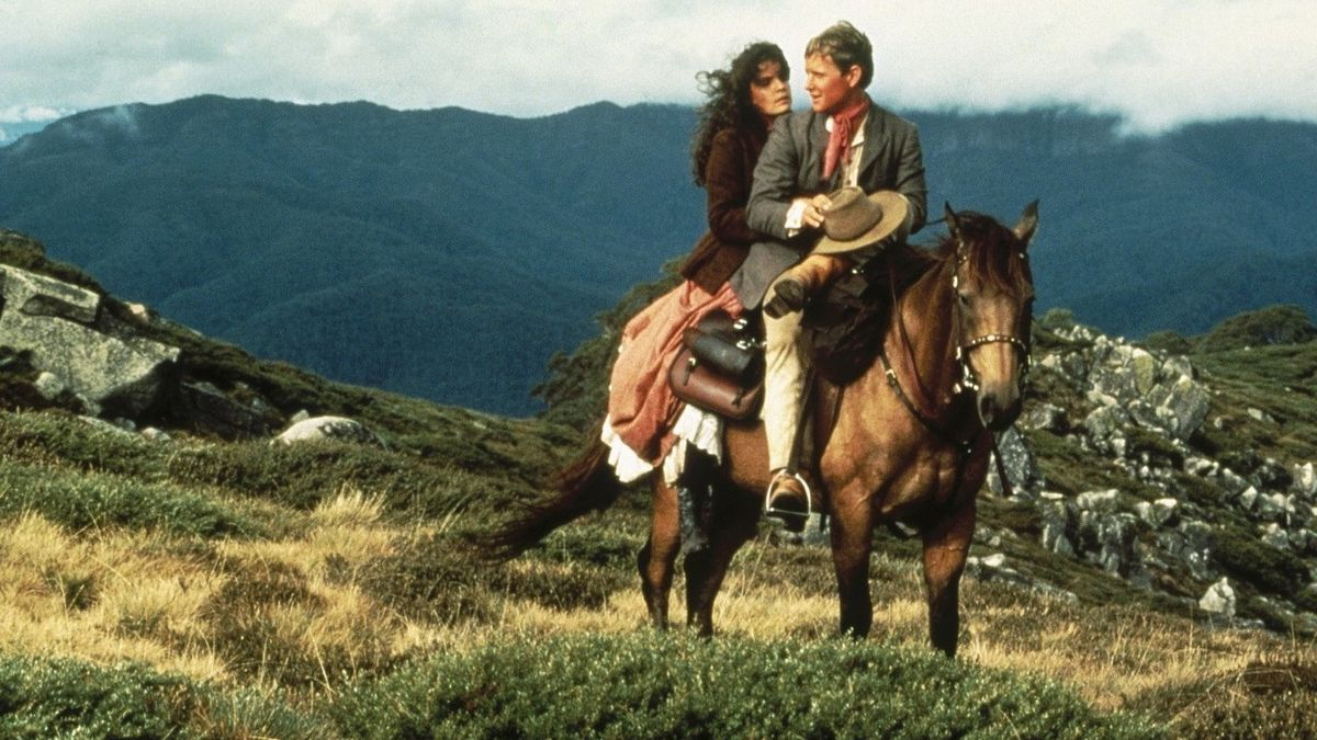 The Man From Snowy River (1982) Movie Scene