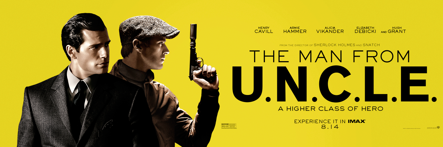 The Man From U.N.C.L.E (2015) poster