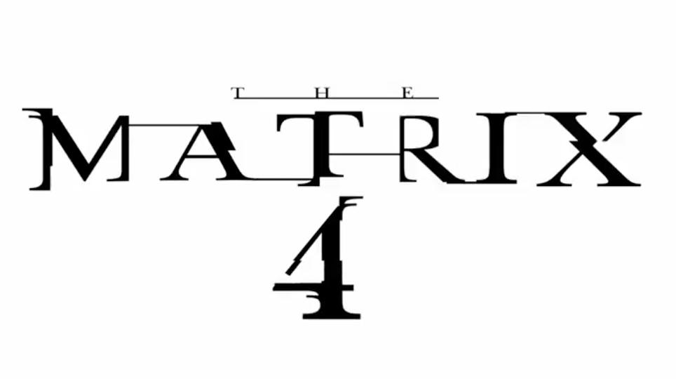 The Matrix 4 (Movie) Title Poster