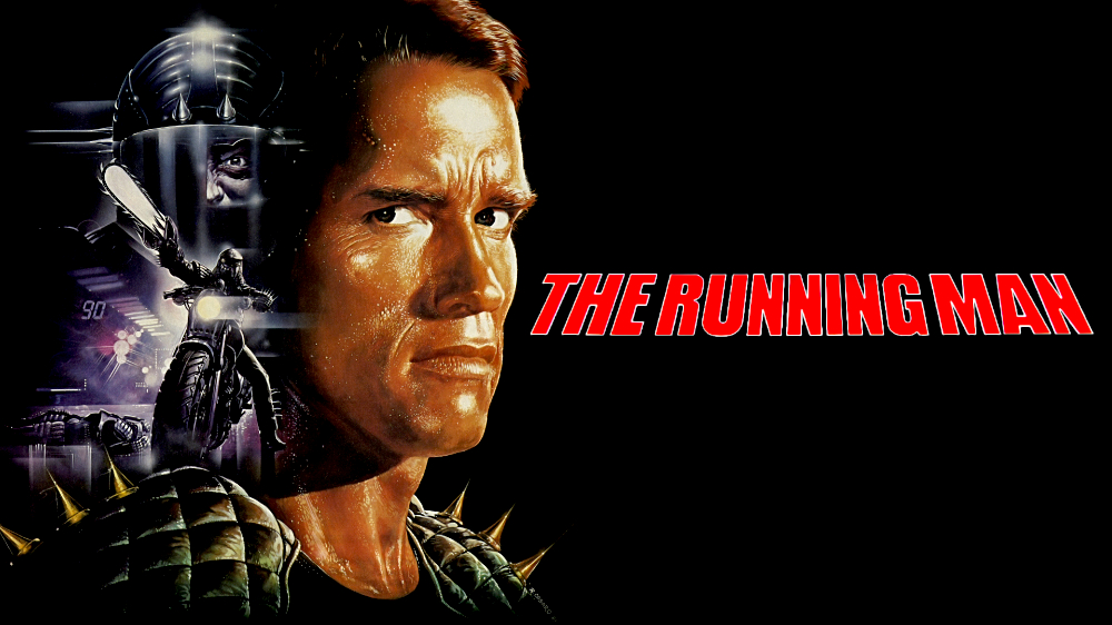 The running man (1987) Poster