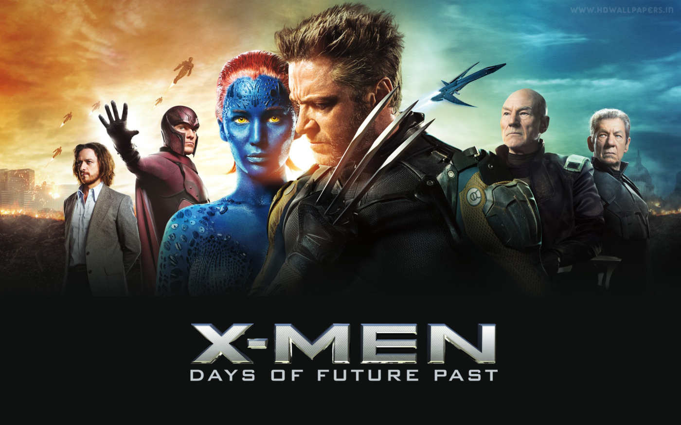 X-Men: Days of Future Past (2014) Movie Poster