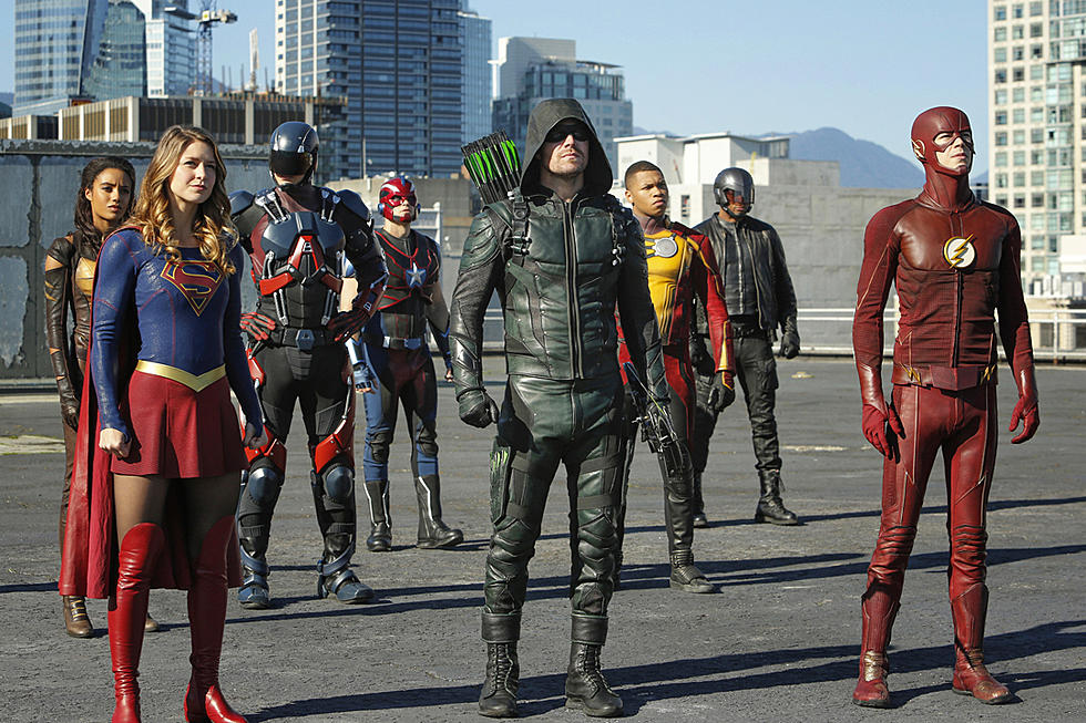 arrowverse crossover Invasion