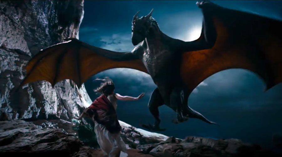 I Am Dragon Movie Scene