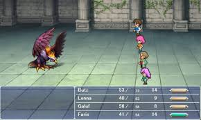 Final Fantasy V Gameplay