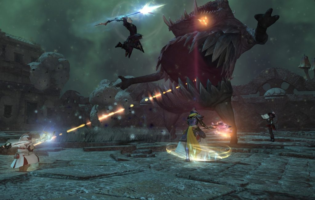 Final Fantasy XIV: A Realm Reborn Gameplay