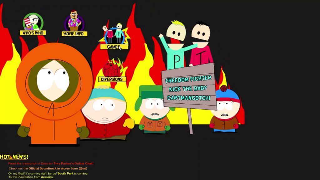 South Park Website
