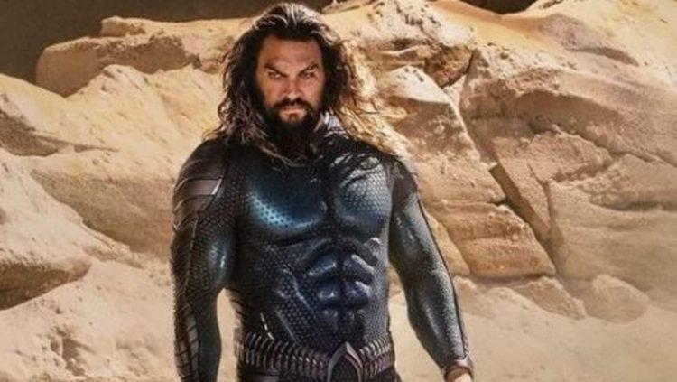 Aquaman Jason Momoa gets a New Costume
