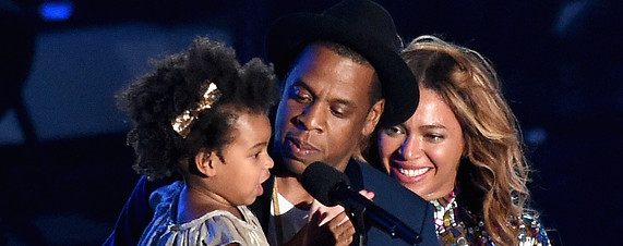 Blue Ivy Carter Daughter of Beyoncé and Jay-Z becomes youngest MTV VMA Winner