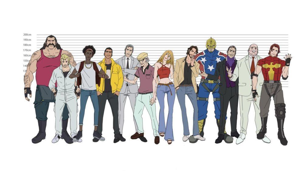 Super Crooks Anime on Netflix