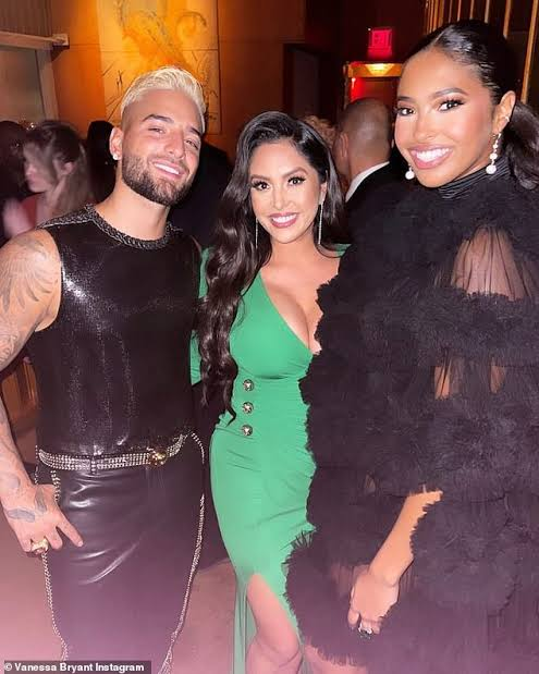 Vanessa Bryant Slays in Green Gown as She Escorts Daughter Natalia to the After-party of Met Gala 2021