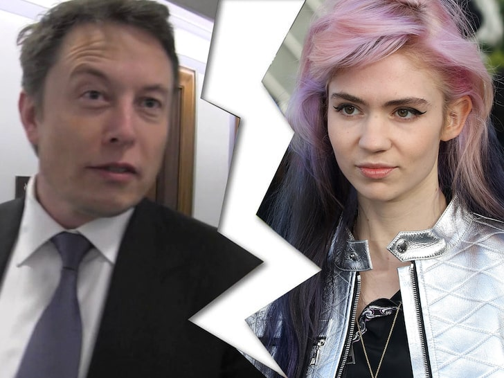 The SpaceX founder Musk Reveals Reason Behind Break Up With Grimes